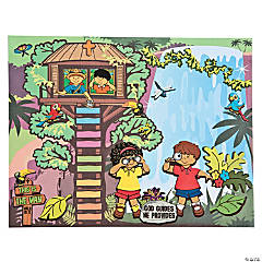 Treehouse Sticker Scenes