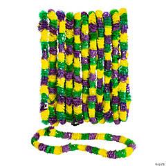 Tri-Color Mardi Gras Leis