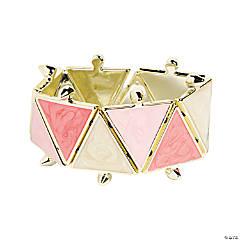 Triangle Pink Bracelet Craft Kit