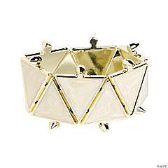 Triangle White Bracelet Craft Kit