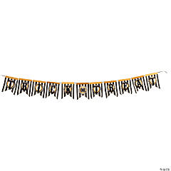 """Trick Or Treat"" Banner Craft Kit"