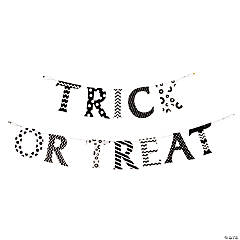 """Trick Or Treat"" Halloween Pennant Banner"