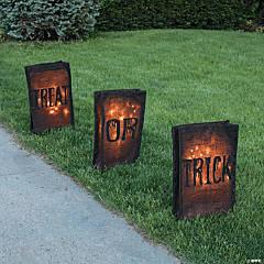 Trick-Or-Treat Outdoor Luminaries Halloween Décor
