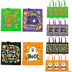 Trick-or-Treat Tote Bags