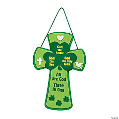 Trinity Shamrock Cross Sign Craft Kit