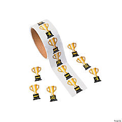 Trophy Roll of Stickers