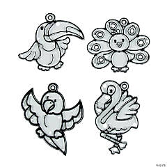 Tropical Bird Suncatchers