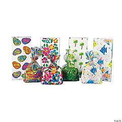 Tropical Goody Cellophane Bags