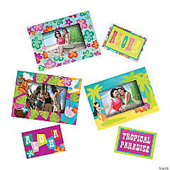 Tropical Picture Frame Magnets