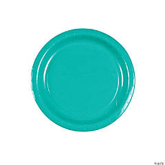 Tropical Teal Dessert Plates