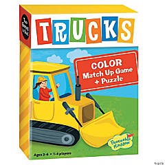 Trucks Color Match Up Game