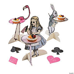 Truly Alice Treat Stand Trio with Coasters