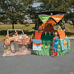 Trunk-or-Treat Camp Courage Décor Idea