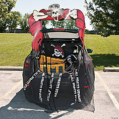 Trunk-or-Treat Pirate Décor Idea