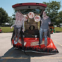 Trunk or Treat Zombie Décor Idea