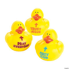 Trust, Obey & Pray Rubber Duckies