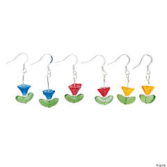 Tulip Earrings Craft Kit
