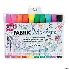 Tulip® Neon Fabric Markers