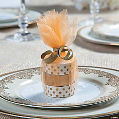 Tulle Circles Favor Idea