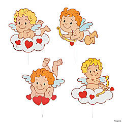 Tumbling Cupids Yard Signs