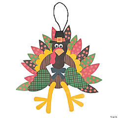Turkey Craft Kit - Makes 12