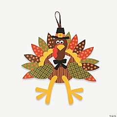 Turkey Craft Kit - Makes 3