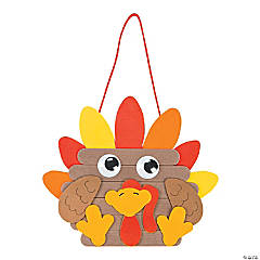 Turkey Door Hanger Craft Kit