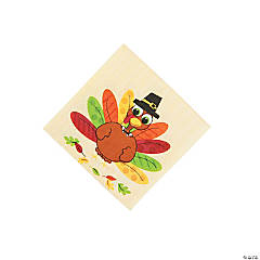 Turkey Fun Beverage Napkins