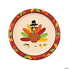 Turkey Fun Dinner Plates