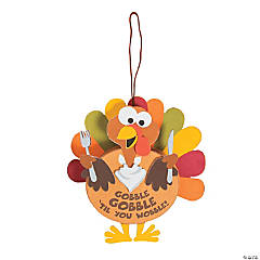 Turkey Gobble Sign Craft Kit