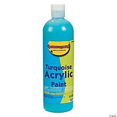 Turquoise Acrylic Paint