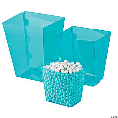 Turquoise Candy Buffet Buckets