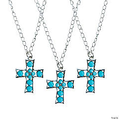 Turquoise Cross Necklaces