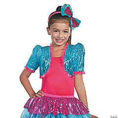 Turquoise Dance Craze Bolero Costume Kit for Children
