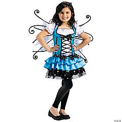 Turquoise Fairy Costume for Girls