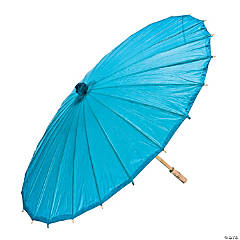 Turquoise Paper Parasol