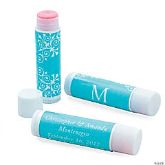 Turquoise Roman Monogram Lip Covers