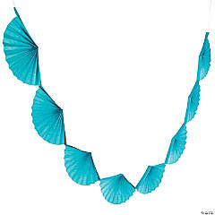 Turquoise Semi Fanburst Garland