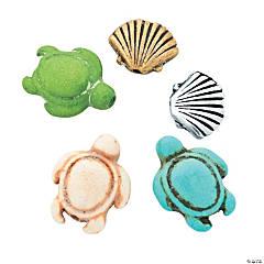 Turtle & Shell Bead Assortment