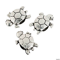 Turtle Large Hole Beads - 16mm with a 4mm hole