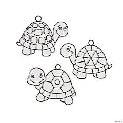 Turtle Shell Suncatchers