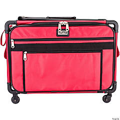 TUTTO Machine On Wheels Case- Red