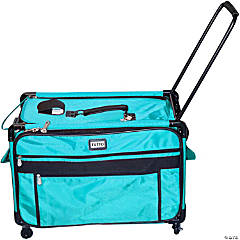 TUTTO Machine On Wheels Case- Turquoise