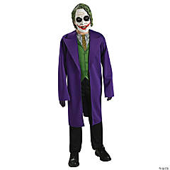 Tween Boy's Joker Costume