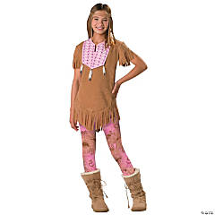 Tween Girl's Native American Costume