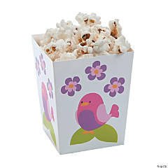 Tweet 1st Birthday Popcorn Boxes