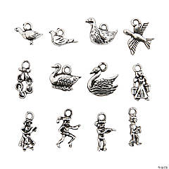 Twelve Days of Christmas Charms