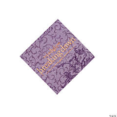 Twilight Breaking Dawn Beverage Napkins