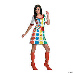 Twister Adult Women's Costume