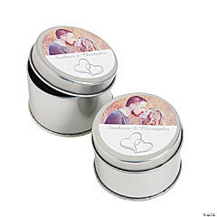 Two Heart Custom Photo Containers